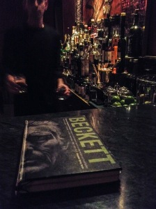 "beckett's ""playbook"" is just a front for a menu of contraband cocktails"