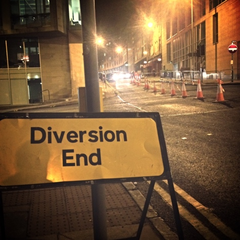 diversion end