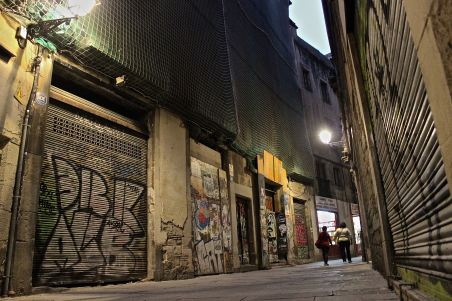 el barrio gotico, the gothic quarter