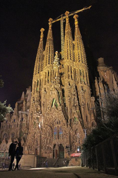 gaudi's masterpiece, the sagrada familia