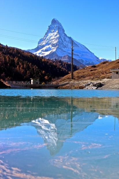 zermatt matthorn reflection