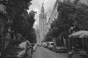 road to the catedral