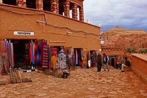 ait benhaddou streets