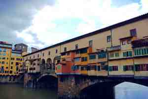 ponte vecchio, the bridge of jewelers