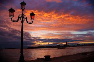 venetian streetlamps