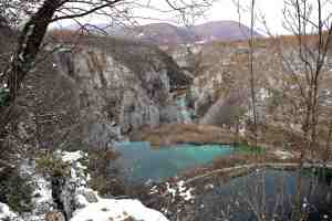 plitvice down in the valley