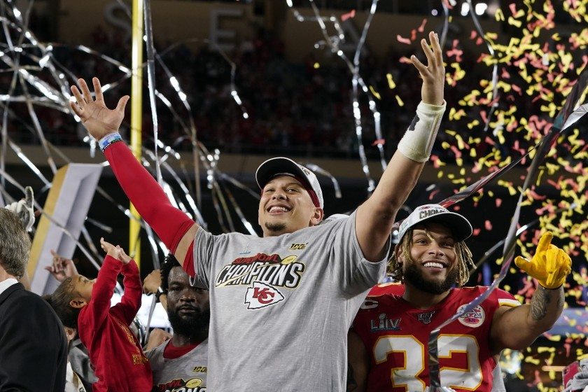 Patrick Mahomes displays leadership in Super Bowl win